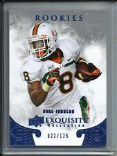 Duke Johnson 2014 Exquisite Collection Rookie #022/125