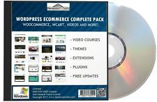 WooCommerce Complete Pack - Wordpress eCommerce Videos, Store Themes, More DVD