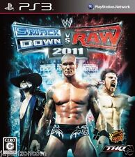 Used PS3 WWE Smackdown vs Raw 2011 PLAYSTATION 3 SONY JAPAN JAPANESE IMPORT