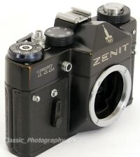 Zenit TTL Moskva - ROBUST 35mm SLR Film Camera Body for Student of Photography!