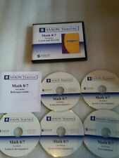 Saxon Math 8/7 Lesson and Test CDs 3rd Edition, NO TEXTBOOKS