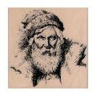 NEW Santa Claus RUBBER STAMP, St. Nicholas Stamp, Santa Stamp, Christmas Stamp