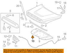 TOYOTA OEM Hood-Insulator Insulation Pad Liner Clip 90467A0003