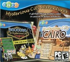 Mysterious City Adventures Vegas & Cairo PC Computer hidden object seek and find