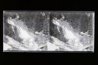 Montaña Cauterets Francia Foto Estéreo L2n8 Vintage Placa De Cristal Negativas