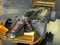 Kit GOLD for Arrma Limitless -Rear Wing, Front Wing with splitter and Side Skirt