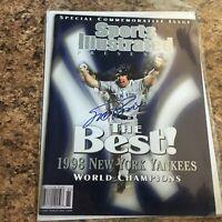 Scott Brosius Signed Sports Illustrated No Label Yankees Commemorative 10/28/98