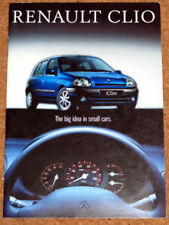 Renault Clio 1994 Car Sales Brochures
