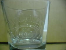 JACK DANIELS EMBOSSED GLASS