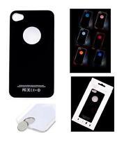 Fundas y carcasas metálicas de color principal negro para teléfonos móviles y PDAs Apple