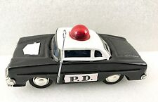 Vintage Police Department Friction Car
