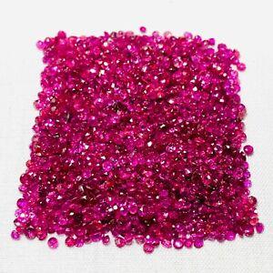 5.0ct Echte Rubine aus großem Lot - ca. 1.5mm - ca 200 - 250 Steine - Top Farbe