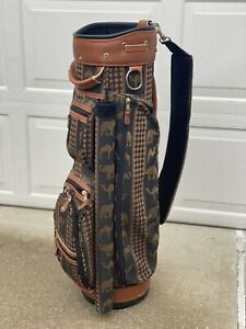 Bloomingbags Vintage Golf Bag - Elephant & Camel Print w 5 Matching Head Covers