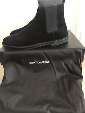 Saint Lauren Chelsea Boots, Suede UK 9  RRP £650