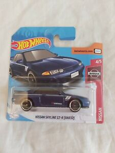 Hot Wheels Nissan Skyline GT-R BNR32 - Blue - 2019