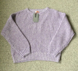 Girls Lilac Jumper By John Lewis Age 9 Yrs New With Tags