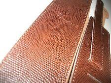 NEW TRACOLLA chitarra SERPENTE brown pelle crosta - patria - - nuovo