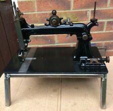 "Jones ""C"" Howe Principle Antique Roller Feed Sewing Machine"