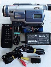 Sony dcr-trv230e Camcorder Digital 8 hi8 video 8 Video Camera Handycam