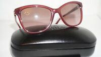 COACH New Sunglasses Milky Black Cherry Brown HC8187B (L1597) 539814 54 17 135