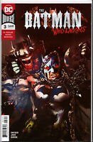 BATMAN WHO LAUGHS #3 ~ 2ND PRINT RED VARIANT ~ (JOCK COVER) ~ DC Comics