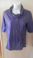 LUCY  Women's Plum SS Athletic  Top  Size SP   SUPER CUTE!!!!!