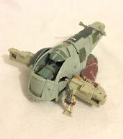 Star Wars Transformers Boba Fett Slave 1 Hasbro 2005 Incomplete