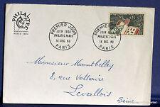 FRANCE Yt1403  Enveloppe 1er jour 14/12/1963 1964  philatec  fa30