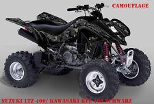 Invision décor Graphic Kit ATV suzuki ltr 450 ltz400 ltz250 Camo, Décalques B