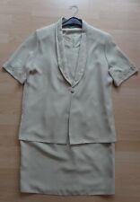 Schickes Set Kleid und Jacke Gr. 44 von CANDA C&A NEUWERTIG