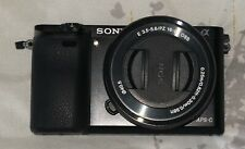 Sony Alpha a6000 Mirrorless Digital Camera 24.3MP w/16-50mm Power Zoom Lens