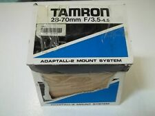 TAMRON 159A 2870MM F/3.5-4.5 ZOOM LENS *NEW IN BOX*