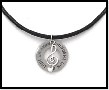 HAMILTON American Musical: Not Throwing Away My Shot Leather Necklace + Gift Bag