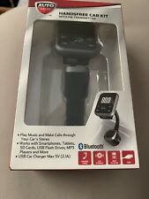 Hands Free Car Kit Bluetooth W/ FM Transmitter