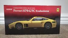 Kyosho 1:18 Ferrari 575 GTC Evoluzione Yellow No. 08392C