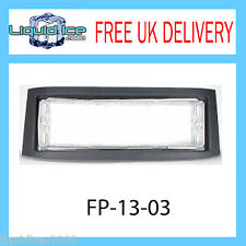FP-13-03 SMART ROADSTER 2002 ONWARD BLACK FASCIA ADAPTER PANEL SURROUND AND CAGE