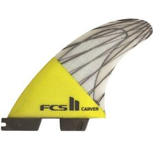 FCS II Carver PC Carbonio propulsore PINNE per tavole da surf Medium 3 FIN SET FCS2