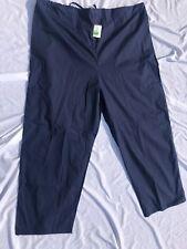 Ams Scrub Uniform Pants Unisex Color: Navy Blue Style:A311 Sz 6Xl Very Comfy!