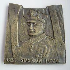 POLAND POLISH WWI 1918 GREAT POLAND Wielkopolski UPRISING MEDAL huge