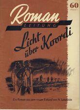 Romanzeitung DDR 1950 Heft 5 Hans Leberecht Licht über Koordi Estland Leberekht