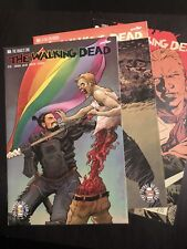 The Walking Dead Lot 162 164 168 Nm+ Pride Variant Robert Kirkman