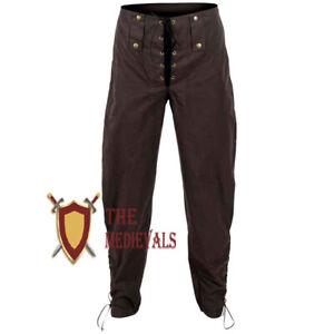 Adventurer Pants Medieval Renaissance Lagging pair of pants Plan cotton Larp SCA