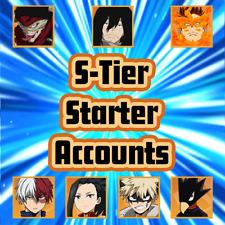 [EU] - My Hero Academia The Strongest Hero : S-TIER STARTER ACCOUNTS
