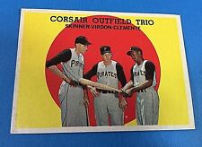"Topps #543  ""Corsair Outfield Trio"" Pittsburgh Pirates Baseball Card (VG)"