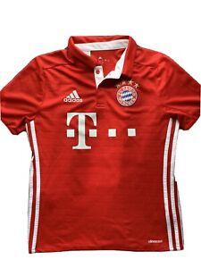 Adidas Bayern Munich Muller #25 Red Youth Jersey, Size L