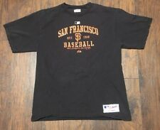 San Francisco Giants Majestic MLB Black Team Authentic Collection Tee Sz Large