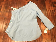 Plenty by Tracy Reese Light Blue One-Sleeve Top, Size 4 NWT! $198