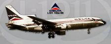 Delta Air Lines L-1011 TriStar 500 Handmade Photo Magnet (PMT1693)