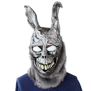 Terror Scary Funny Halloween Mask Cosplay Rabbit Full Face Helmet Props Costume