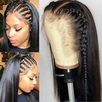 Pre Plucked Straight 360 Full Lace Front Wig 100% Brazilian Human Hair Wig Zfy42